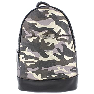 Kenneth Cole Reaction Womens Trooper Camouflage Backpack Black Small 756eb6f05f