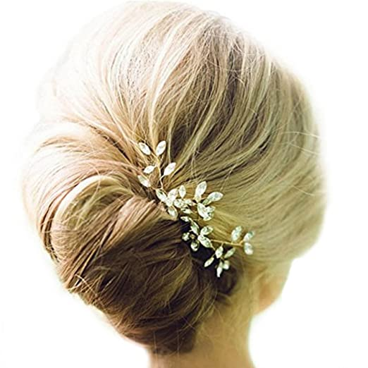 Amazon Venusvi Wedding Hair Pin Set Hair Accessories For Bridal