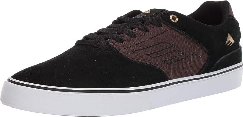 Emerica Reynolds Low Vulc Sneakers Damen Herren Unisex Schwarz/Braun