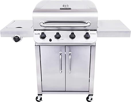 Amazon.com: Char-Broil 463375919 - Barbacoa de gas de 4 ...