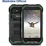 """Blackview BV6000S 4.7"""" Androïd 6.0 IP68 Smartphone Robuste Outdoor Téléphone Débloqué 4G, Téléphone Portable étanche / antichoc / antipoussière, MT6737T Quad Core RAM de 2 Go et ROM de 16 Go LTE-FDD Dual SIM Dual Standby"""