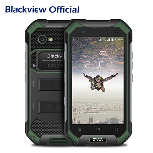 35 opinioni per Blackview BV6000S Telefono Cellulare Rugged Smartphone Offerte 4G Android 6.0