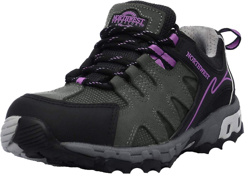 Zapatillas de senderismo de mujer Hope, con cordones, impermeables: Amazon.es: Zapatos y complementos