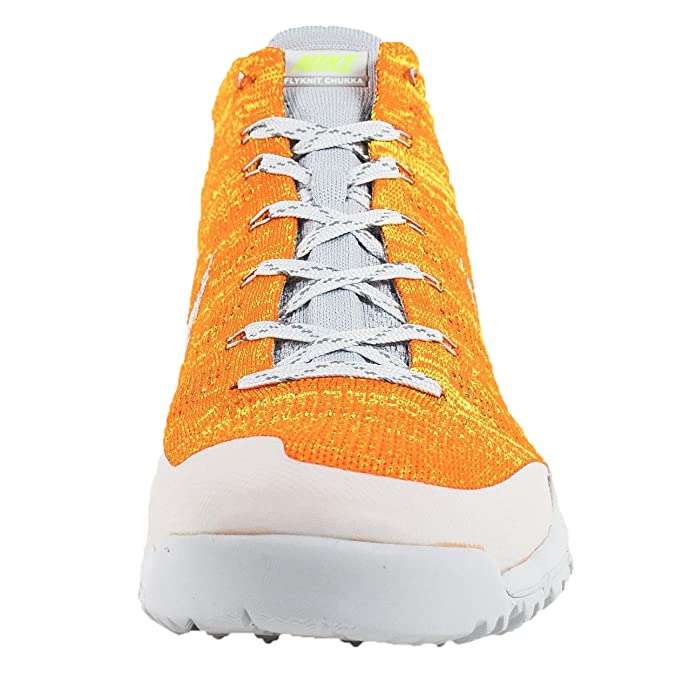 promo code 471e0 220ab ... order amazon nike mens flyknit trainer chukka sfb sp total orange lt bs  grey volt ntrl
