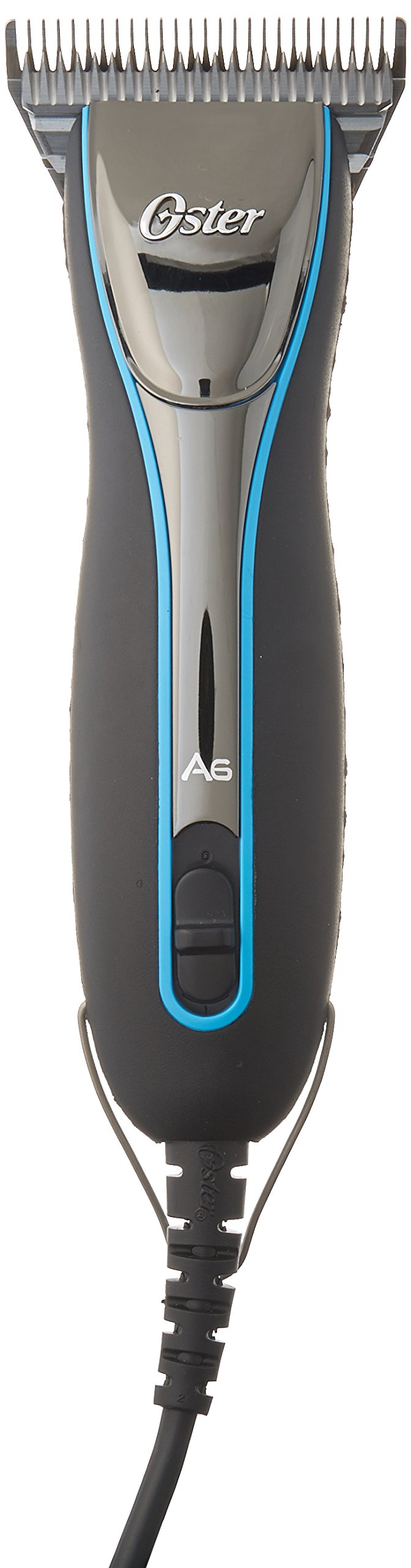 Oster A6 Cool Comfort Heavy Duty Pet Grooming Clippers with Detachable CryogenX #10 Blade, 3 Speed (0-34264-45709-6)