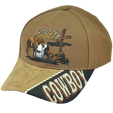 6fce15ae4c6 Capsmith SCBCHU Cowboy Church Cap