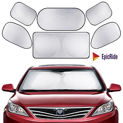 Amazon Com Epicride Full 6 Pcs Car Windshield Sunshade Uv Protector