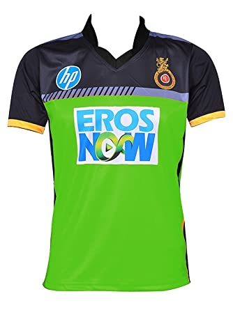 roots4creation rcb green ipl jersey 2018 amazon in clothing