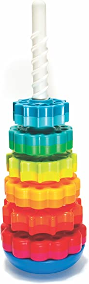 Fat Brain Toys SpinAgain Kids Stacking Toy