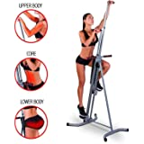 Vertical Exercise Trainer Fitness Total Full Body Workout Climber/Stepper