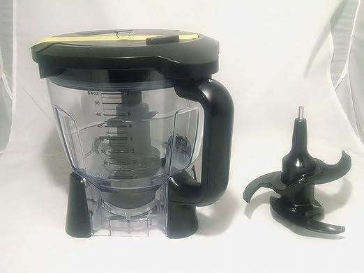 Amazon.com: Ninja Licuadora 64oz Procesador de alimentos ...