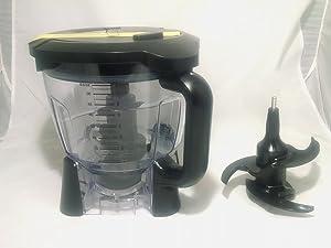 Ninja Blender 64oz Food Processor Bowl Attachment Kit - Duo & Auto IQ BL 640, BL641, BL642 , BL680 and BL682 Only