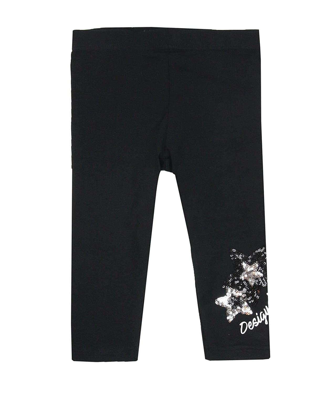 Desigual Girls' Leggings Floral In Black, Sizes 5-14
