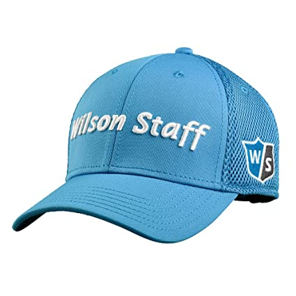 7daa4817ec9 Amazon.com   Wilson Staff Tour Mesh Cap