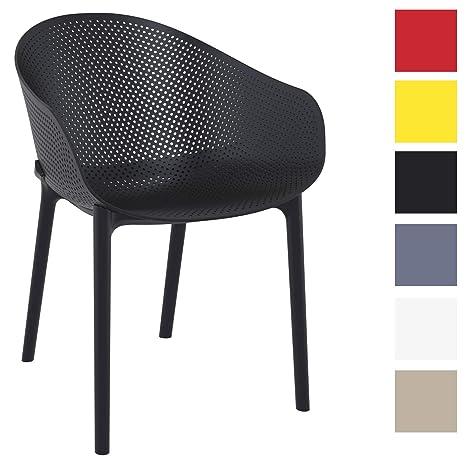 Sedie In Polipropilene Da Giardino.Clp Sedia Impilabile Da Giardino Sky In Polipropilene Sedia Design