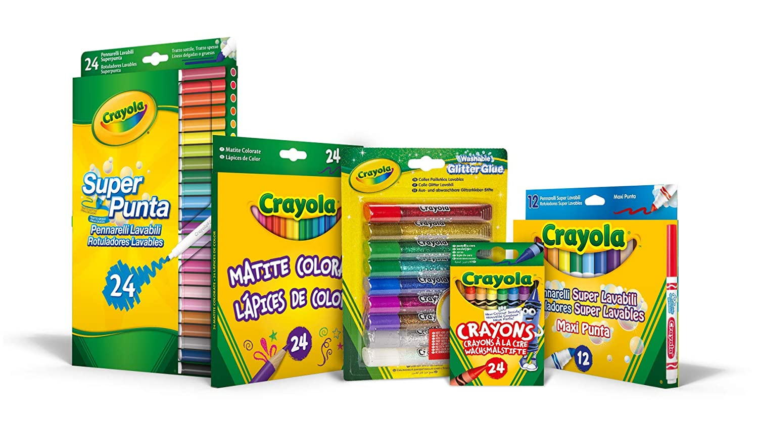 Crayola 7438 - Kit Colorea y divié rtete