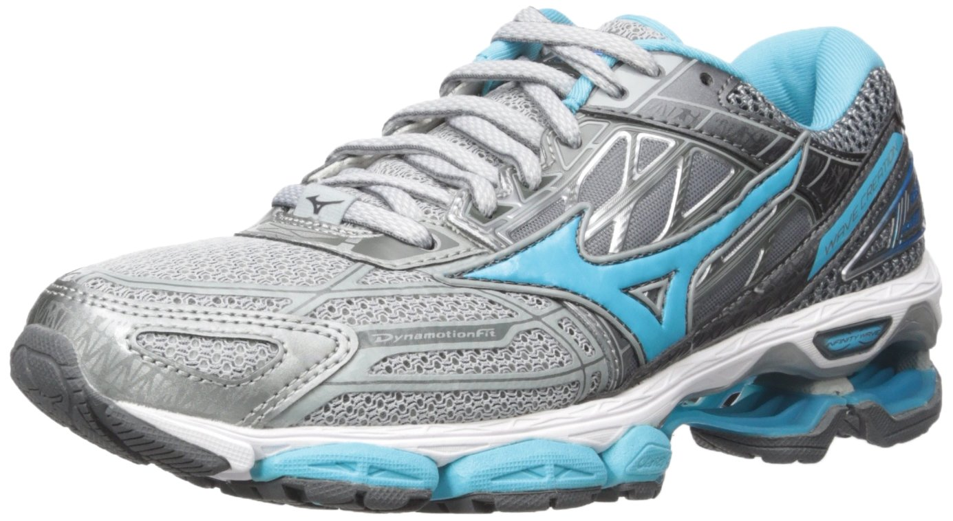 Mizuno Running Women's Wave Creation 19 Shoes B01N6E10UO 7 B(M) US|High-rise/Blue Atoll/Castlerock