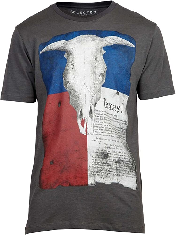 Selected - Texas Camiseta - S: Amazon.es: Ropa y accesorios