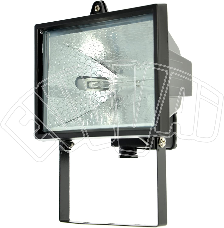 Foco Proyector Halógeno 500 W portalámparas con lámpara halógena ...