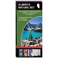 Alberta Nature Set: Field Guides to Wildlife, Birds, Trees & Wildflowers of Alberta