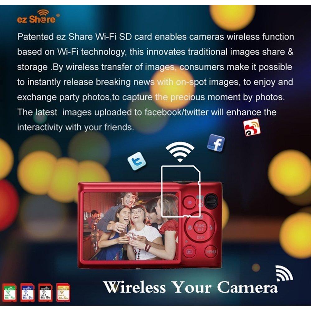 Ez compartir Wifi tarjeta Sd 8 GB clase 10 Nuevo Inc? 2nd ...