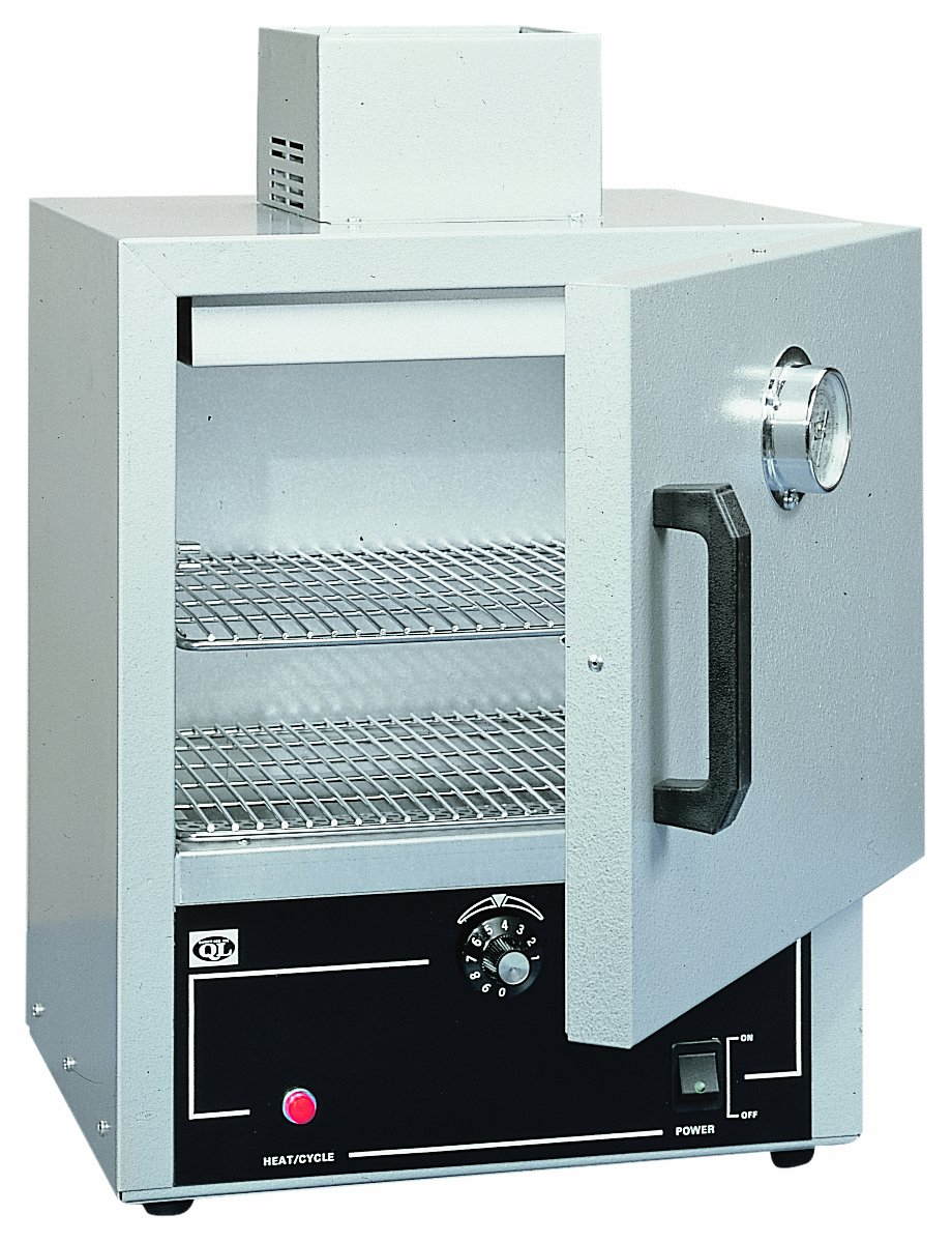 Quincy 10AF Bi-Metal Forced-Air Laboratory Oven, 0.6 Cubic Feet/17 Liter Capacity, 450 Degrees F/232 Degrees C Maximum Temperature, 120V by Quincy
