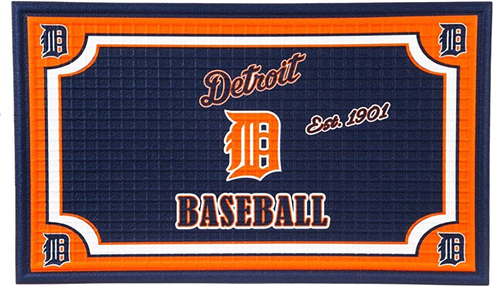 Team Sports America MLB Embossed Floor Mat, 18 x 30 inches