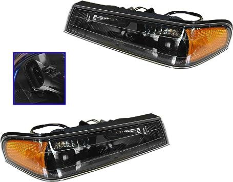 Passengers Park Signal Light w// Black Bezel for Colorado Canyon i-Series Pickup