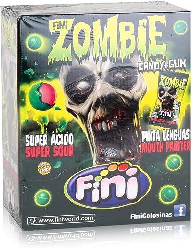 Fini Zombie Candy Gum - Caja con 200 caramelos de chicle, empaquetados individualmente: Amazon.es: Alimentación y bebidas