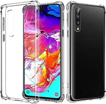 BIZHIKE Funda para Samsung Galaxy A70 Carcasa Silicona ...