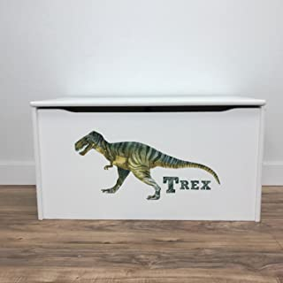 product image for Little Colorado T-Rex Little Prints Toy Storage Box