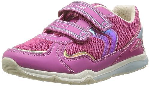 Geox JR MAGICA B - Caña baja de lona niña: Amazon.es: Zapatos y complementos