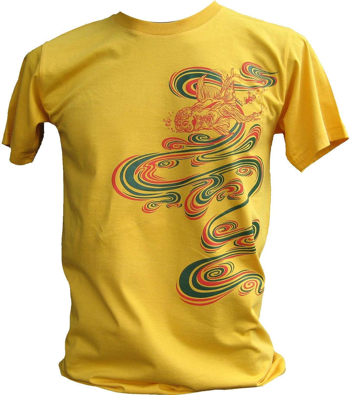 RaanPahMuang Grand Piano Falling on a Faceless Suit Rocky T-Shirt