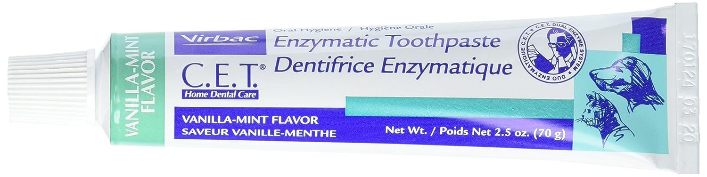 CET Toothpaste Vanilla/Mint (2.5 oz.) Virbac CETPASTE AP-B000NVBZFA