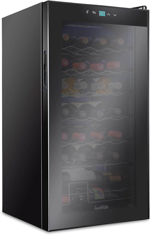 Amazon.com: Ivation - Enfriador de vino termoeléctrico de ...