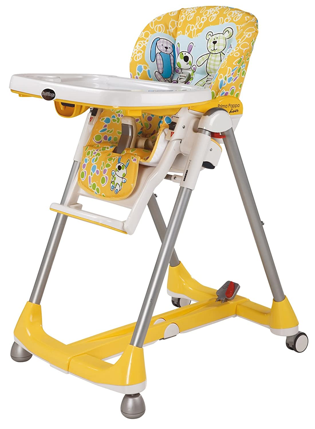 Peg Perego Prima Pappa Diner Highchair one size yellow