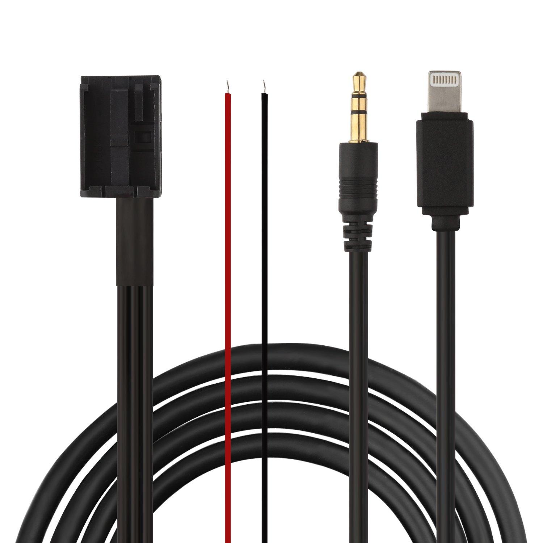 Eximtrade 3, 5mm AUX y Lightning Conector Cable Carga MP3 Mú sica para BMW Esté reo SA662/SA609/SA661-650 5mm AUX y Lightning Conector Cable Carga MP3 Música para BMW Estéreo SA662/SA609/SA661-650