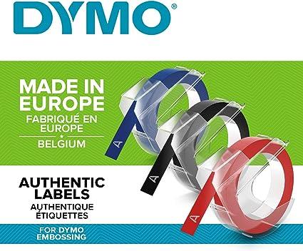 Dymo 3D Label Tapes - Cintas para Impresoras de Etiquetas (Bélgica ...
