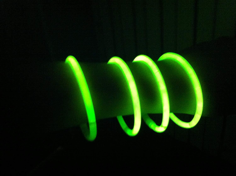 Scegli Il Tuo Colore Preferito! DUE ESSE 100 Braccialetti Luminosi Starlight Fluorescenti BRACCIALI Disco Fluo