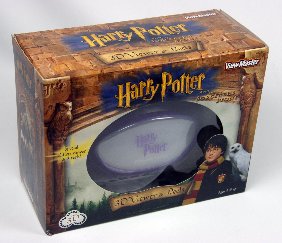 ViewMaster Gift Set Harry Potter - Sorcerer's Stone Virtual Viewer and 3 Reels