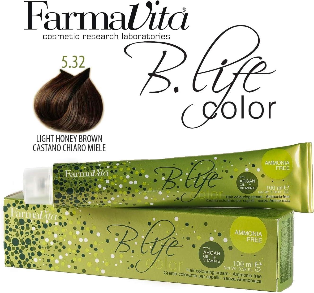 Farmavita Life Color Tinte Capilar sin Amoniaco 5.32-100 ml