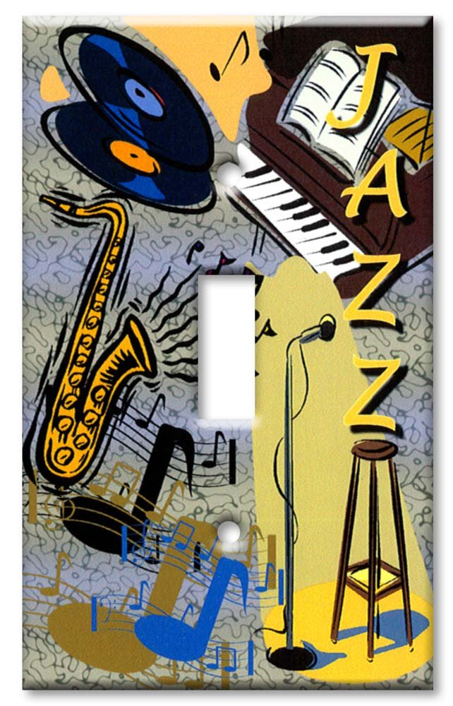 Jazz Outlet Cover Wall Plate