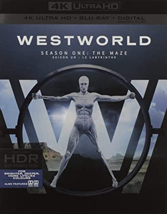 Westworld: The Complete First Season 4K UHD/ BD/ UV/ BIL Blu