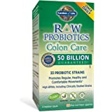 Garden of Life Whole Food Probiotic and Colon Health Supplement - Raw Probiotics Colon Care Dietary Supplement, 30 Vegetarian Capsules