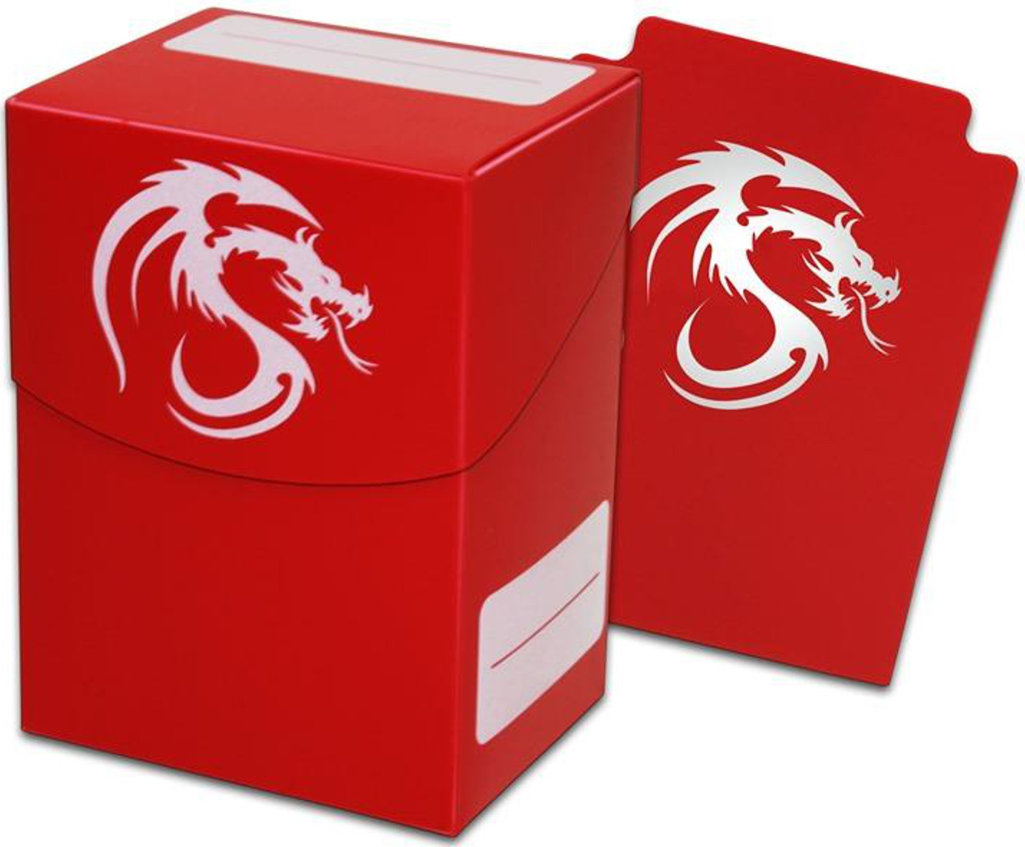 Red Trading Card Boxes - Gaming Deck Cases - Each Holds 80 Cards - DC-RED - (90 Boxes)