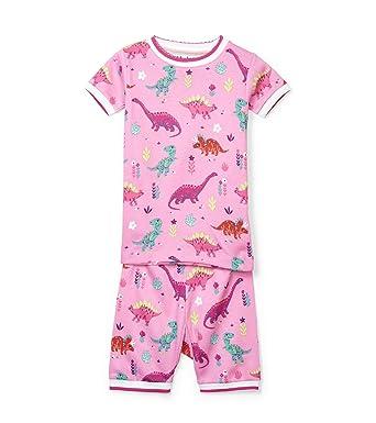 a09720835 Amazon.com  Hatley Girls  Organic Cotton Short Sleeve Printed Pajama ...
