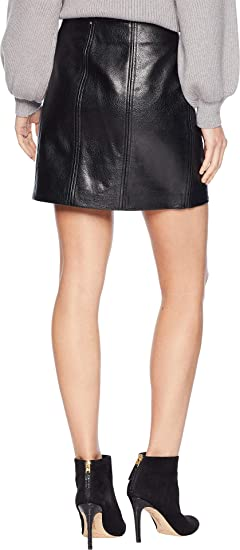 db68c8c140e  BLANKNYC  Blank NYC Womens Vegan Leather Mini Skirt with Zipper Detail in  House Party at Amazon Women s Clothing store