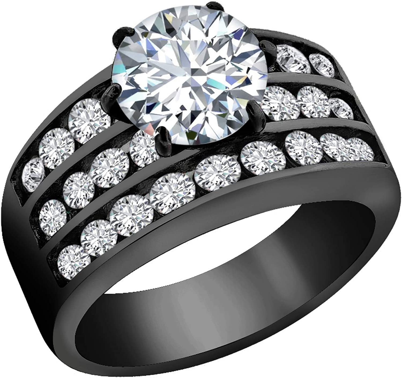 Optional Steel Stud Earrings FlameReflection Stainless Steel Engagement Rings for Women Cubic Zirconia Diamonique Ring for Women Wedding Rings for Women Stainless