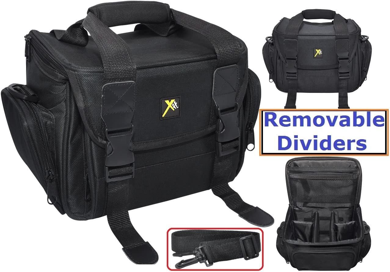 Pro Durable Camera Carrying Bag Case for Canon EOS M50 M6 PowerShot SX730 SX620