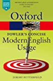 Fowler's Concise Dictionary of Modern English Usage 3/e (Oxford Quick Reference)